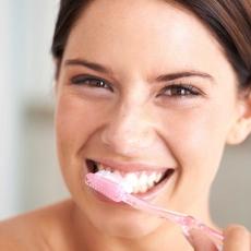 I brush my teeth with Dental Sugar
