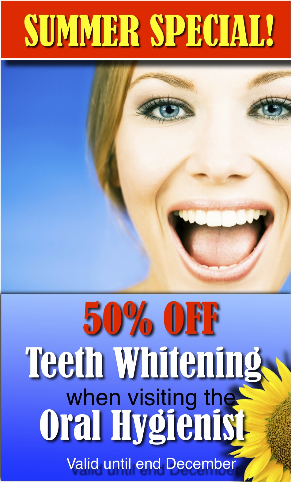 *Summer Teeth Whitening Special*