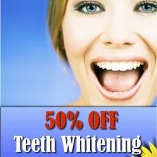 *Summer Teeth Whitening Special*