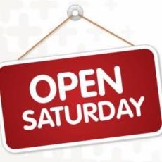 Super Saturdays - we are open