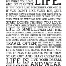 Live your Life to the fullest