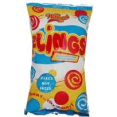 Maybe Flings isn't the best snack for your child?