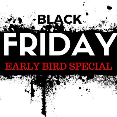 BLACK FRIDAY Zoom special