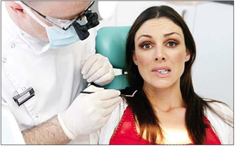 Anxiety in the Dentist's Chair…
